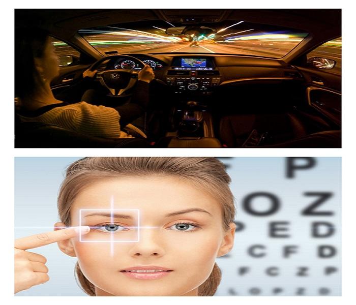 вождение и зрение